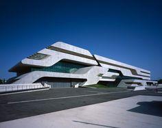 Pierresvives, Montpellier, France | Zaha Hadid Architects; Photo: Helene Binet | Bustler