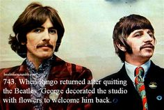 I never knew that Ringo had quit the Beatles from August 1968 to September 1968.  See: http://ultimateclassicrock.com/ringo-starr-temporarily-quits-the-beatles/