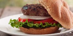 Roasted garlic and fresh rosemary make these burgers extra flavorful. Adding grated zucchini to the beef is a clever way to sneak veggies into your meal.