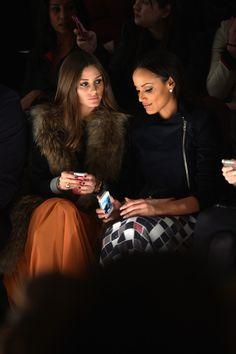 Olivia Palermo and Model Selita Ebanks
