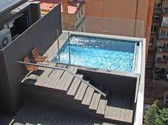 Resultado de imagen para terrazas para piscinas elevadas