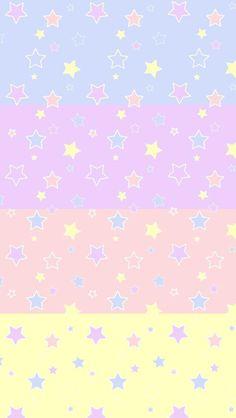 ⭐⭐⭐ Fond d'écran Multi-Colors Étoilés ⭐⭐⭐ ~ [⭐_WallPaper_⭐]