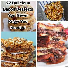 Community Post: 27 Delicious Bacon Desserts You Never Knew You Needed