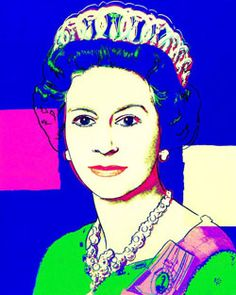 Queen Elizabeth II Buys Famous Andy Warhol Pop Art Prints Of Herself