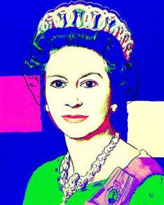 Queen Elizabeth II Buys Famous Andy Warhol Pop Art Prints Of Herself