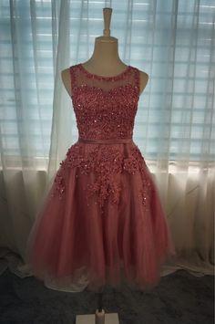 Robe De Soiree Rosa Laço Curto Vestidos de Noite Bordados com Cercadura Perspectiva Backless Moda Festa Noiva Vestido de Baile Formal Loja Online | aliexpress móvel