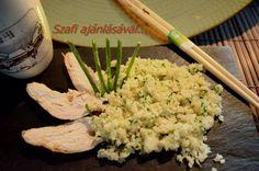 Éhezésmentes karcsúság Szafival - Karfio rizs recept