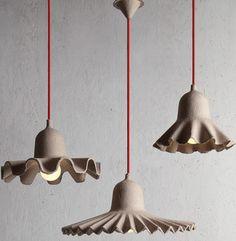 Seletti Egg Of Columbus Suspended Carton Lamp | 2Modern Furniture & Lighting