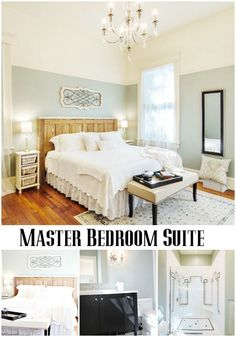 Master Bedroom Phantom Screens Southern Romance Idea Home