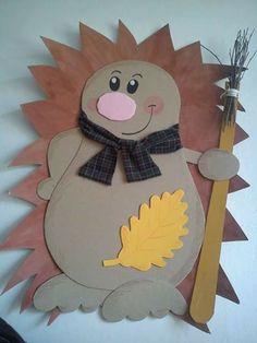 Crafts with children Henrietta Animal Crafts For Kids, Fall Crafts For Kids, Diy For Kids, Diy And Crafts, Arts And Crafts, Paper Crafts, Autumn Activities, Activities For Kids, Hedgehog Craft