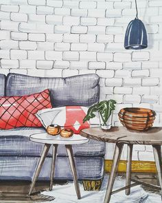Sketch By Shushan Vardanian #design #sketches #interior