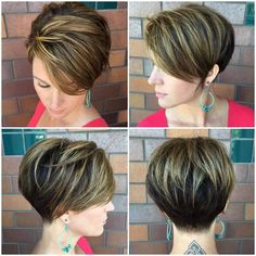 "2,425 Likes, 22 Comments - ShortHair DontCare PixieCut (@nothingbutpixies) on Instagram: ""Great cut @tespowers after taking a class at @zimbalisalonspa"""