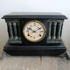 Antique Mantle Clock, $115