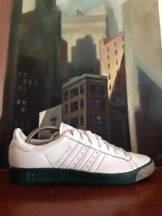 Forest Hills Adidas Tennis Shoe Vintage Ad with Forest Hills