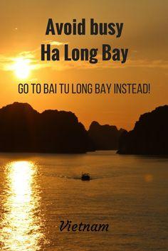Beautiful Bai Tu Long Bay, Vietnam – stay away from Ha Long!