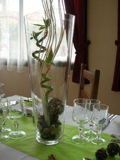 Centres de bambou sur pinterest centres de table - Pinterest centre de table ...