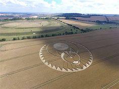 Figsbury Ring, Firsdown, Wiltshire, UK - 22 July 2016