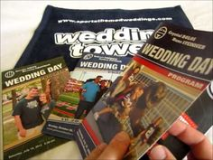 Check out this short video about our custom designed football wedding programs!   #footballwedding  #stwdotcom