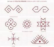 Image result for simboluri sacre dacice Folk Embroidery, Embroidery Patterns, Cross Stitch Patterns, Floral Embroidery, Old Symbols, Ancient Symbols, Doodle Sketch, Symbolic Tattoos, Romanian Lace