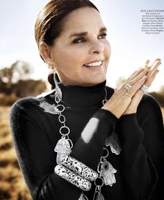 I hope I have this woman's look and wisdom at 72! Love Ali McGraw