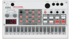 Korg Volca Sample: Quirliger Sampler mit Sequenzer + Hall & Filter - http://www.delamar.de/instrumente/korg-volca-sample-25202/?utm_source=Pinterest&utm_medium=post-id%2B25202&utm_campaign=autopost