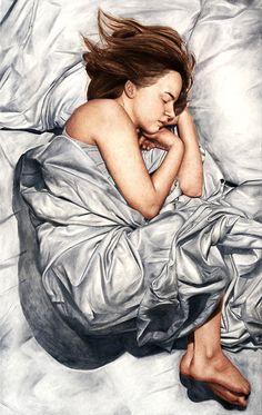 Pinturas realistas de Hanna Fideli Nordqvist