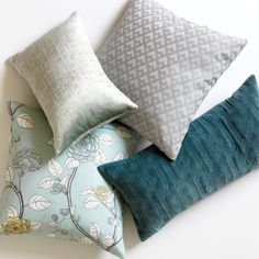 DwellStudio Sutton Slate Decorative Pillow #laylagrayce