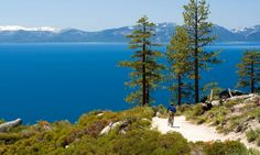 Mountain Biking - Lake Tahoe  Going here end of the summer:)