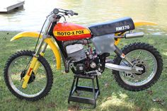 Motocross Bikes, Vintage Motocross, Sport Bikes, Dirt Biking, Mini Bike, Vintage Bikes, Custom Bikes, Cool Bikes, Motorbikes