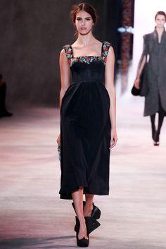 Ulyana Sergeenko Fall 2013 Couture Fashion Show - Jessa Brown (VIVA)