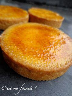 La fantastique tarte à l'orange caramélisée de Christophe Felder... dünner Boden, viel Füllung