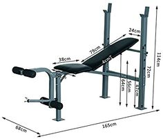 Homemade Gym Equipment, Outdoor Gym Equipment, Home Gym Equipment, No Equipment Workout, Home Made Gym, Diy Home Gym, Gym Workout Videos, Gym Workouts, Adjustable Workout Bench