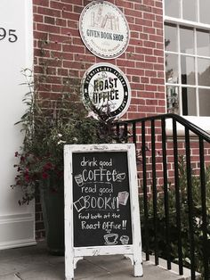 The Roast Office in Pinehurst, NC. Yep, old post office converted to new coffee house  !