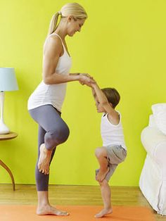 7 Yoga Poses To Do With Your Toddler 5