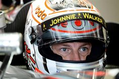 Jenson Button Vodafone McLaren Mercedes