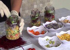 Aprenda a fazer e vender salada no pote