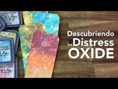 DISTRESS OXIDES TECHNIQUES AND WHAT MAKES THEM UNIQUE - YouTube