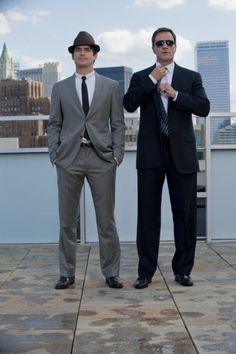 "Neal Caffrey & Peter Burke; ""White Collar"""