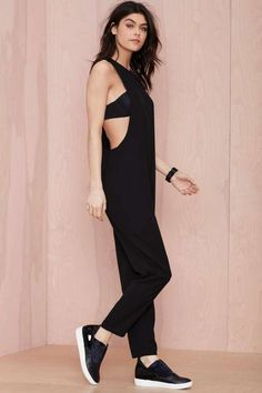 Nasty Gal Midnight Highway Jumpsuit - Rompers + Jumpsuits