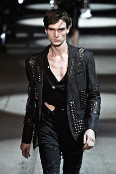 Book Management - Gryphon O'Shea for Philipp Plein Collections Men SS16