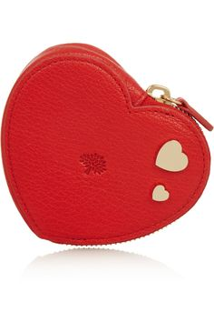 MULBERRY  Valentines textured-leather coin purse