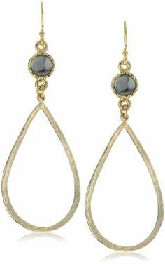 Lisa Stewart Hammered Tear Drop with Stone Earrings Lisa Stewart, http://www.amazon.com/dp/B005M503J6/ref=cm_sw_r_pi_dp_-JD7qb0D693G3