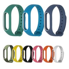 Bracelet Strap For Xiaomi Mi Band 2 Colorful Strap Wristband Replacement Smart Band Accessories Silicone For Miband 2
