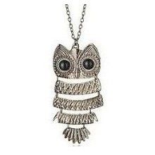 OWL NECLACE. LOVE THIS!!!