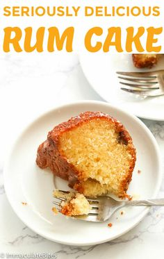 Great tasting rum cake from scratch without pudding mix paired with rum butter sauce. Rum Butter, Butter Sauce, Golden Rum Cake Recipe, Rum Cake From Scratch, Nigerian Food, Cupcake Cakes, Cupcakes, International Recipes, Cake Recipes