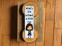 Your place to buy and sell all things handmade Sirius Black Quotes, Bookmarks Quotes, Totally Awesome, Any Book, What Is Life About, Stocking Stuffers, Book Lovers, Pixie, Card Stock