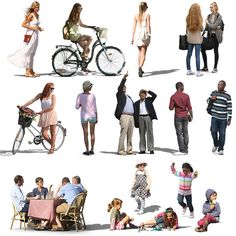 Texture Other character people cutout Photoshop Png, Photoshop Rendering, Photoshop Elements, Sketchup Rendering, Coupes Architecture, Architecture People, People Cutout, Cut Out People, Painting People