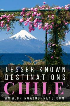 Most people have heard of San Pedro and Torres del Paine, but have you been to these five lesser known destinations in Chile? : Most people have heard of San Pedro and Torres del Paine, but have you been to these five lesser known destinations in Chile? South America Destinations, South America Travel, Cool Places To Visit, Places To Travel, Travel Destinations, Chili Travel, Machu Picchu, Ecuador, Costa Rica