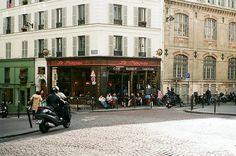 Le Progrés café in Montmartre, Paris / photo by Plaggue - Vogue list of 9 Paris restaurants