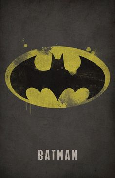 Batman: DC Comics Minimalist Posters by West Graphics Batman Und Catwoman, Im Batman, Batman Art, Marvel Dc Comics, Batgirl, Gotham Batman, Batman Stuff, Batman Robin, Lego Batman